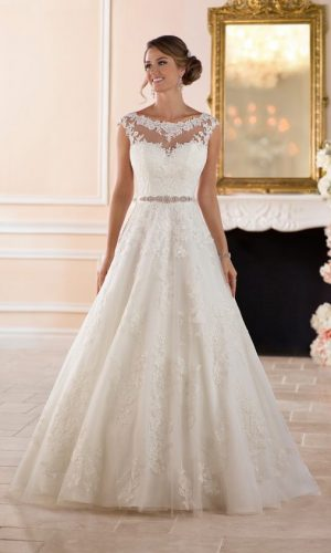 6303 Wedding Dress by Stella York
