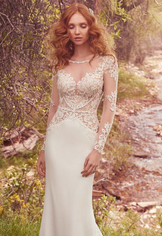 Blanche – Maggie Sottero NOW £350