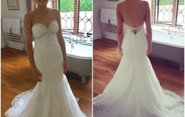 Thank you again for helping me find my perfect dress!