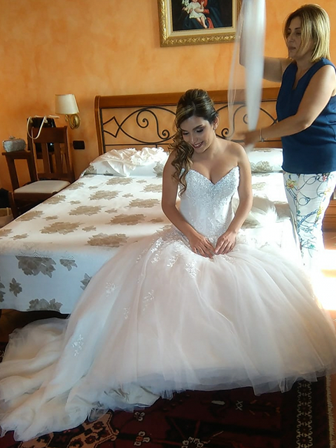The wedding was in Sicily!