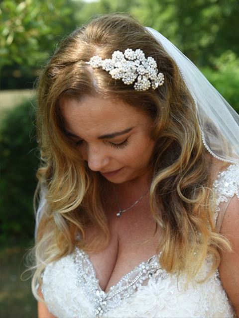 New bride, Jane Hawkins