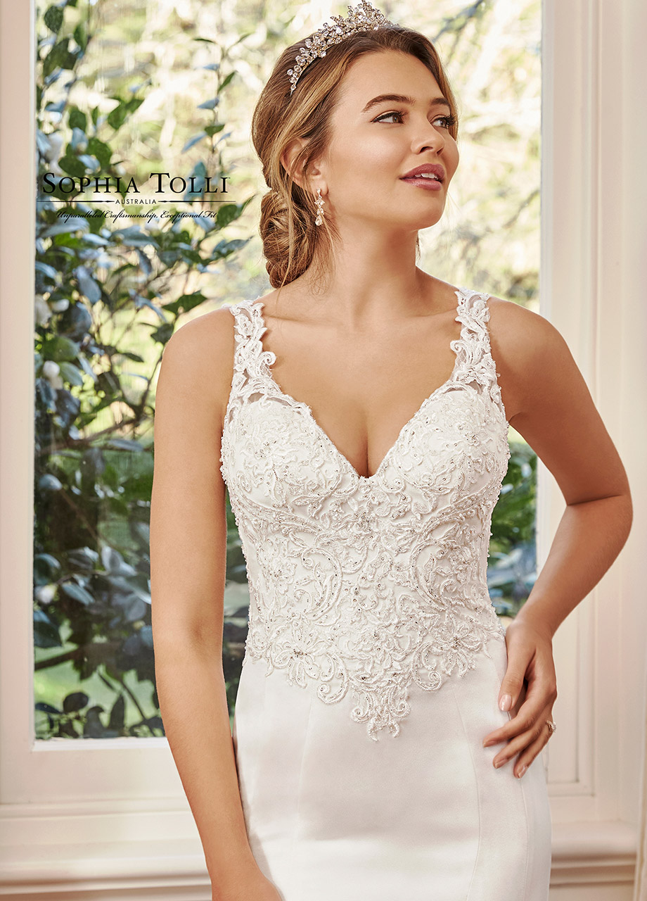 Y11959B Sophia Tolli Dress