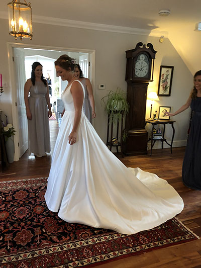 Thank you all so much for your help with my dress