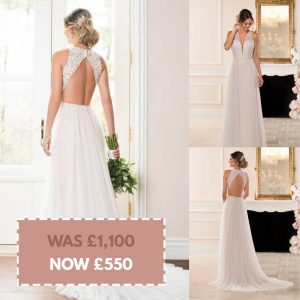 Stella York 6707 Size 12 Ivory/Moscato Was £1,100 Now £550
