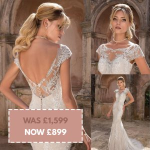 Justin Alexander 88050 Size 14 Sand/Ivory Was £1,599 Now £899