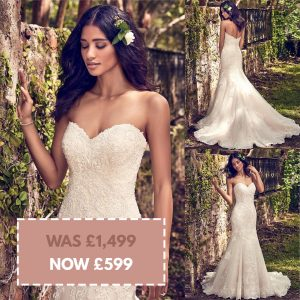 Maggie Sottero Saige size 14 & 20 Was £1,499 Now £599