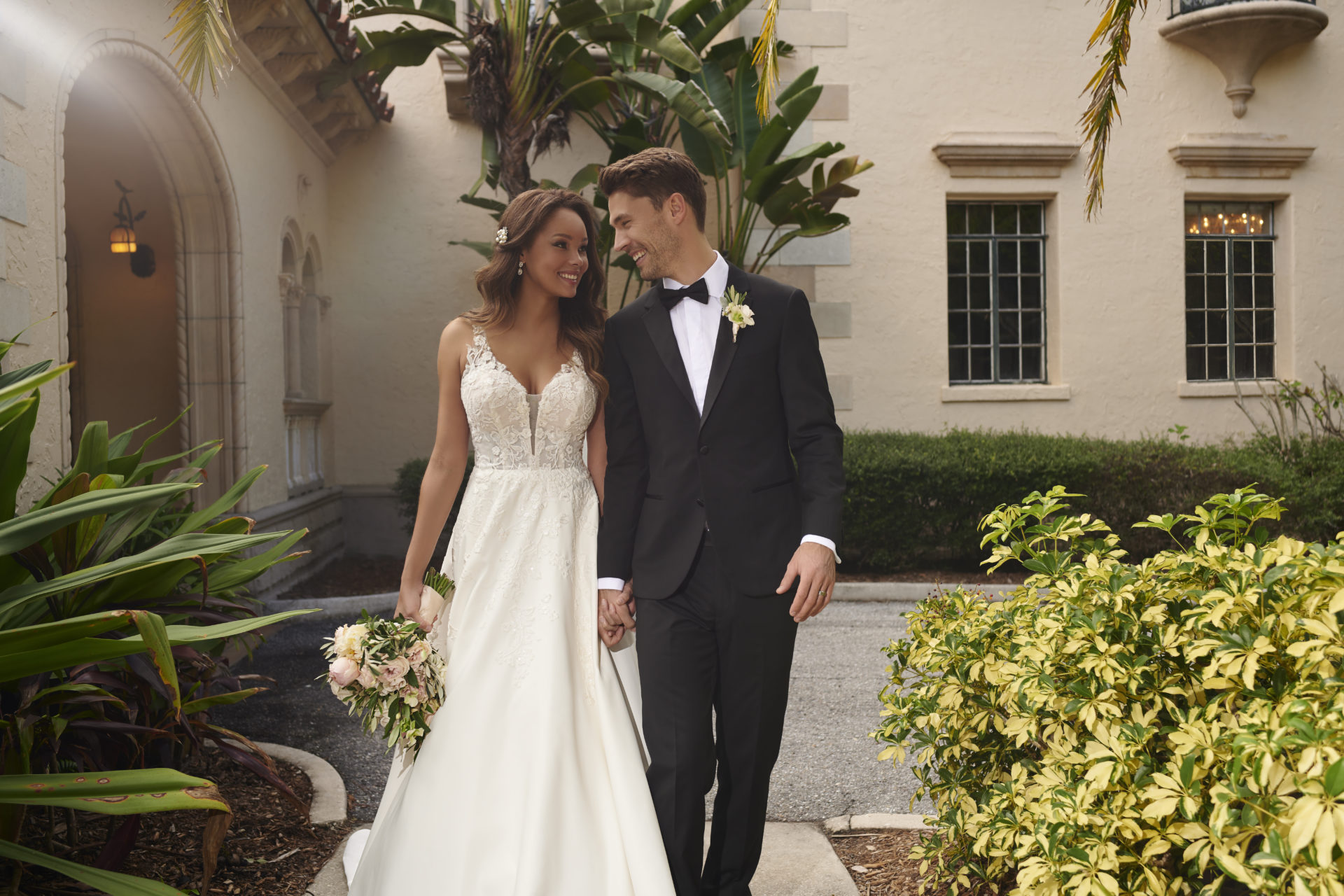 7198-Stella York Ballgown Wedding Dress